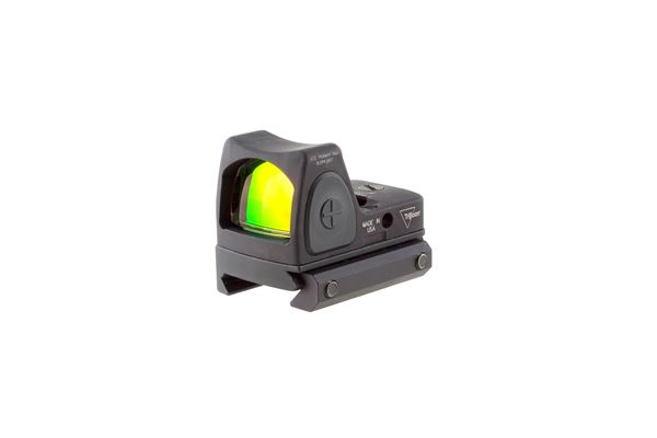Trijicon 700047: RMR Adjustable LED Sight - 6.50 MOA Red Dot w/RM33 Mount