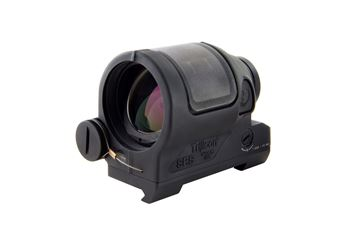 Picture of Trijicon 900001 SRS02: Sealed Reflex Sight 1.75 MOA Red Dot with Quick Release Flattop Mount