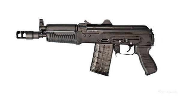 ARSENAL SLR-106UR Pistol, 5.56x45 caliber, Bulgarian receiver, with side rail, Muzzle Break