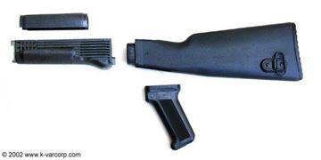 Polymer Black Stock Set NATO US