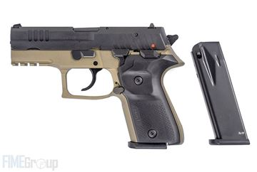 Rex Zero 1CP FDE 9mm Semi Automatic Pistol with Two 10 Round Magazines & Hard Polymer Case