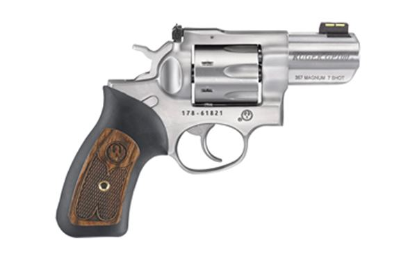 "RUGER GP100 357MAG 2.5"" STN 7RD AS"