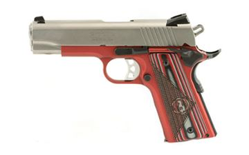 """RUGER SR1911 45ACP 4.25"""" STS/RED 7RD"""