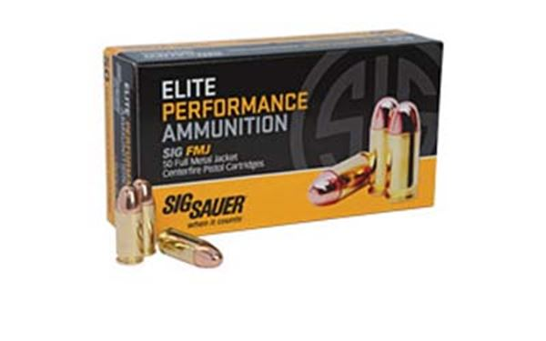 SIG AMMO 38SUP +P 125GR FMJ 50/1000