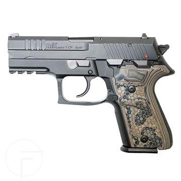 Rex Zero 1CP Blk 15rnd 9mm DE Grips