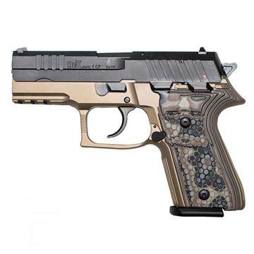 Rex Zero 1CP FDE 15rnd 9mm DE Grips