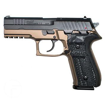 Rex Zero 1S FDE 17rnd 9mm Blk Grips