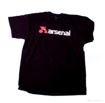 Arsenal T-Shirt- Black - X-Large