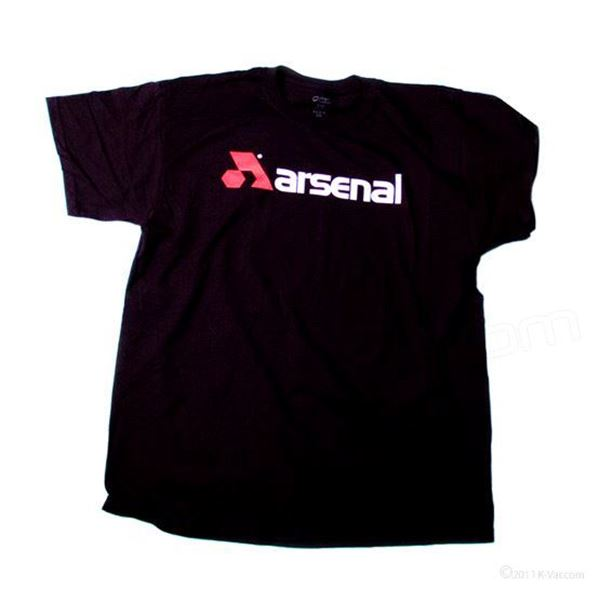 Arsenal T-Shirt- Black - Medium