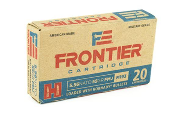 FRONTIER 556NATO 55GR FM193 20/500