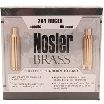 Picture of 204 Ruger Brass (50 ct)