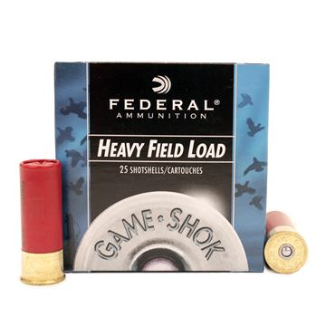 "Picture of 12ga 2-3/4"" 6-Shot Field /25"