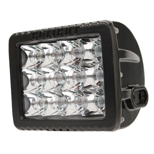 Gxl LED Spotlight - Fixed Mount-Black