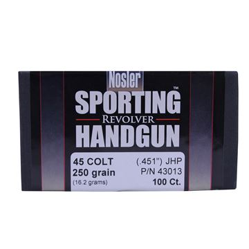 Picture of 45 Colt 250gr JHP (100 ct)