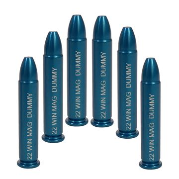 Picture of 22 Win Mag 6 Pack Dummy Rounds