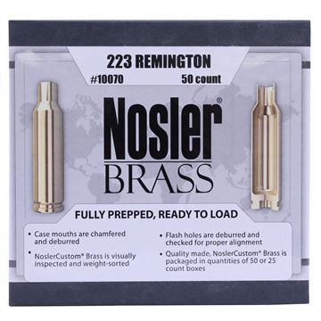Picture of 223 Remington Brass (50 ct)