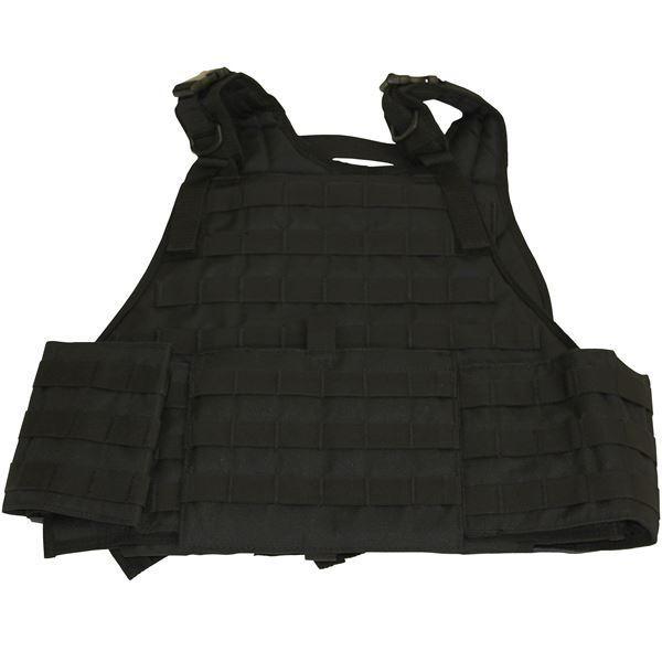 Plate Carrier Vest with Cumber Bund Black