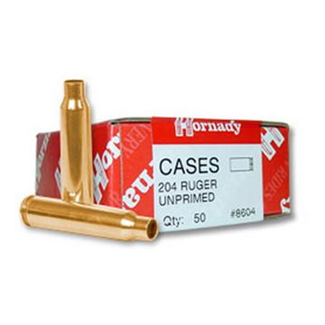 Picture of 204 Ruger Unprimed Brass /50