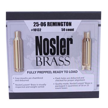 Picture of 25-06 Remington Brass (50 ct)