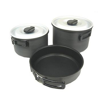 Picture of Ridge Hard Anodized Cookset, Lg