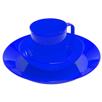 Picture of Acadia Tableware Set, Blue