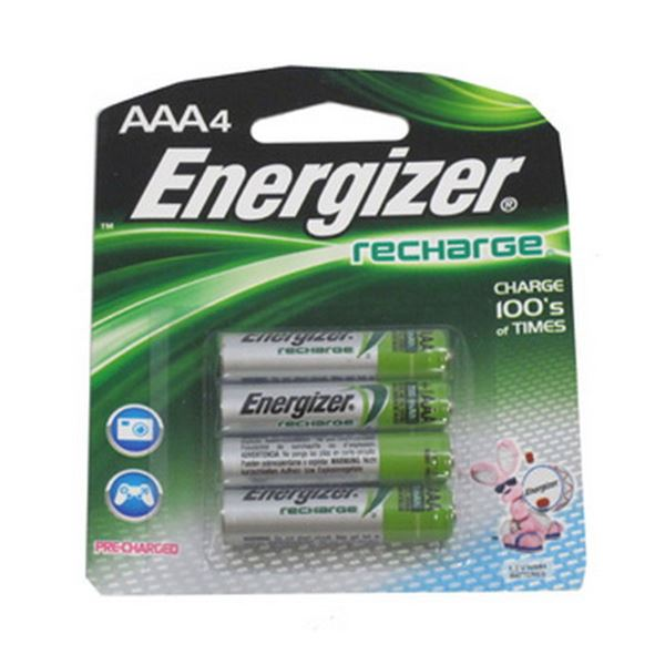 NiMH Rechargeable AAA (Per 4)