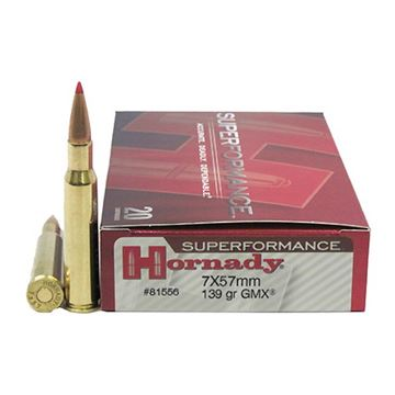 Picture of Ammo 7X57 Mauser 139gr Gmx SPF/20