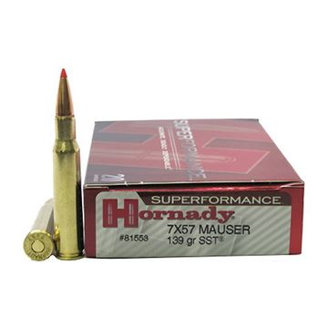 Picture of Ammo 7X57 Mauser 139gr SST SPF/20
