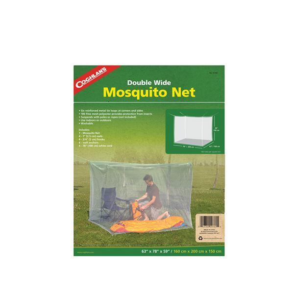 Mosquito Net - Double - White