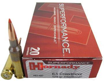 Picture of Ammo 6.5 Creedmoor 129gr Interbond SPF/20