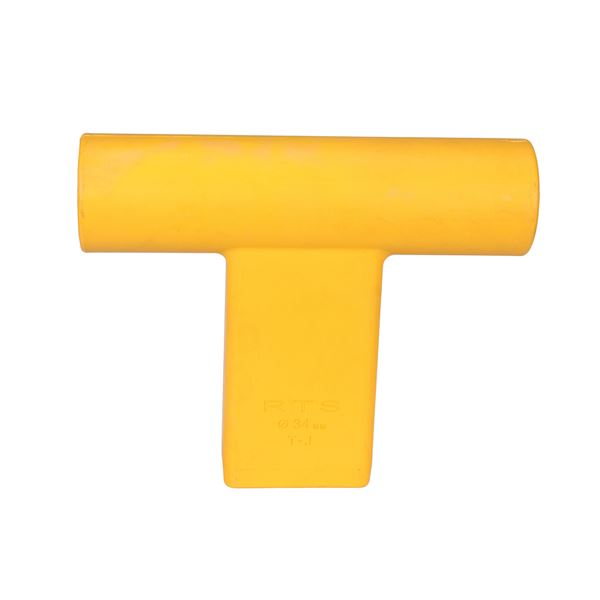 """""""T"""" Connector for Round Target Pole-Y"""