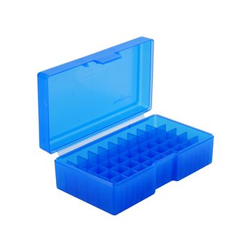 #506,480 Ruger50 AE 50 ct. Ammo Box  Blue
