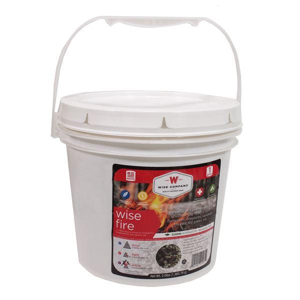 1 Gallon Bucket - Wise Fire