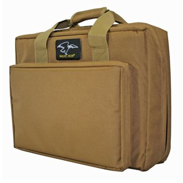 "Picture of 16"" Discreet Dbl Square Case Coyote Brown"