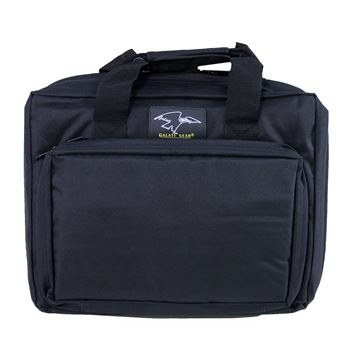 "Picture of 16"" Discreet Double Square Case Black"