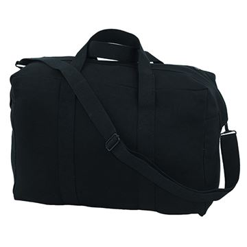 "Picture of 18x8.25x12"" Small Black Para Bag"