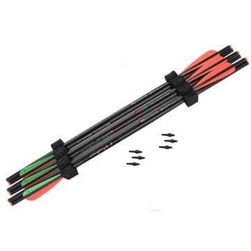 """Picture of 22"""" Carbon Pro-V Arrows ,6/PK"""
