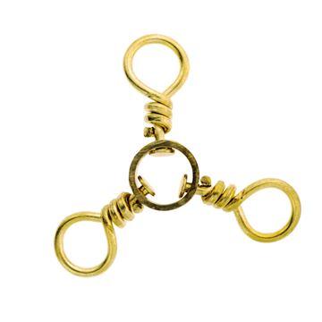 Picture of 3-way Swivel-3/0 Brass 01251-039 12pcs