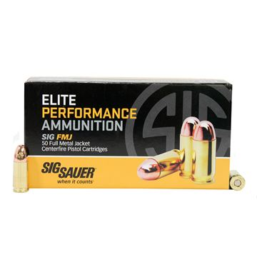 Picture of 9mm 124gr EliteBall FMJ/50