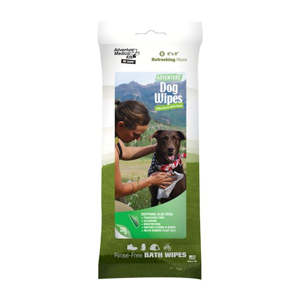 Adventure Dog Wipes Pkg./8