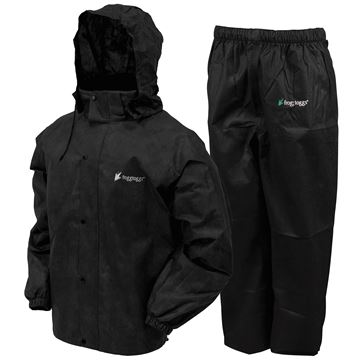 Picture of All Sport Rain Suit Blk 3X