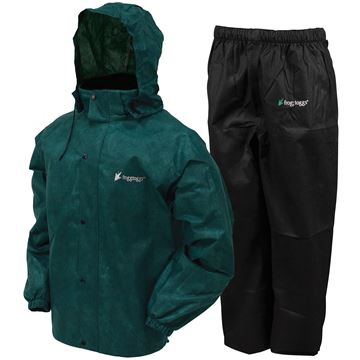 Picture of All Sport Rain Suit Dark Green 3X