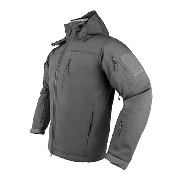 Picture of Alpha Trekker Jacket - Urban Gray- Large