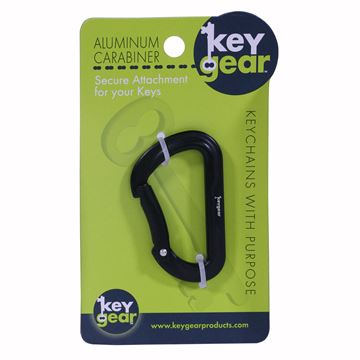 Picture of Aluminum Carabiner 1.0, Black