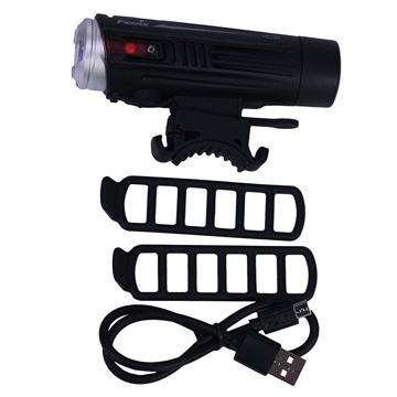 Picture of BC21R LED Bike Light w/battery, Blk/Slv