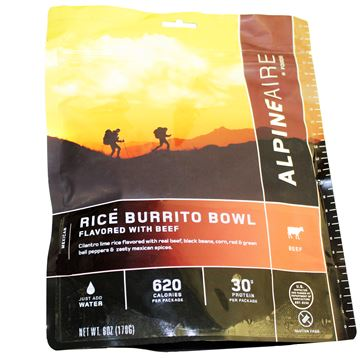 Picture of Beef & Rice Burrito Bowl Serves 2