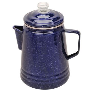 Picture of Percolator 14cup Enamelware