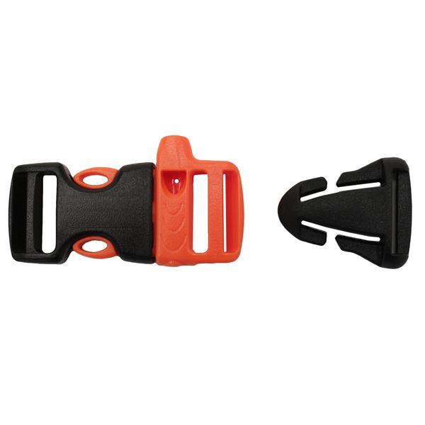 3/4 Whistle Sternu Strap Buckle w/Quick Attach T-Glide