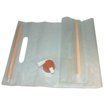 Picture of Water Carrier Roll-Up 10L, Clear