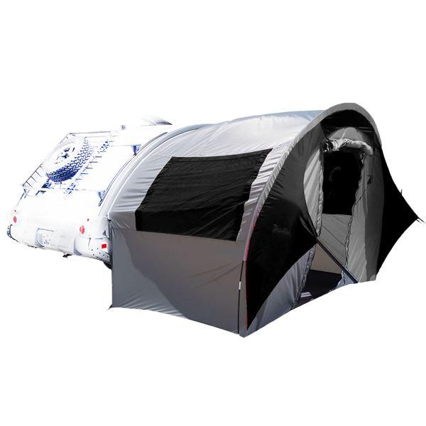 TAB Trailer Side Tent - silver/black trim